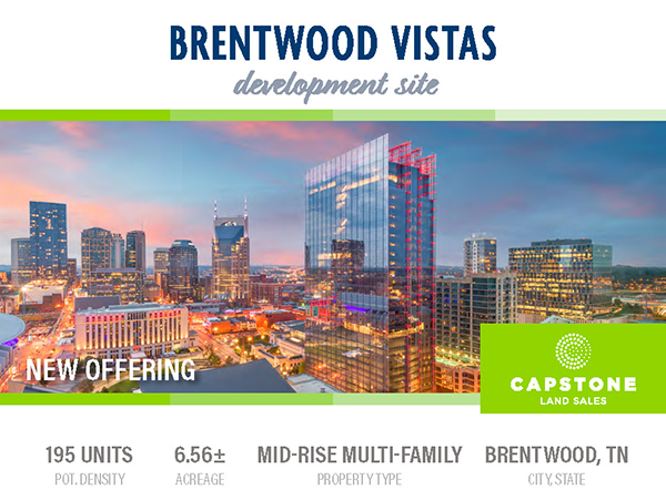 Brentwood Vistas Launch Email 1