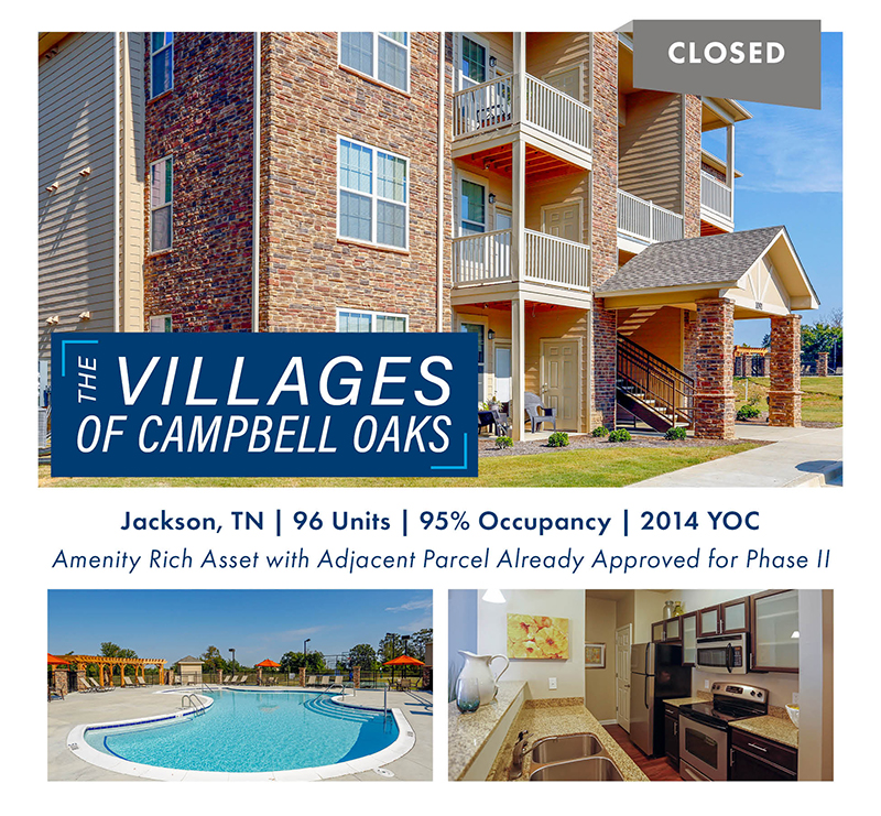 The Villages of Campbell Oaks Closing