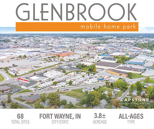 New Offering: 68-Site Fort Wayne MHC | Ideally Located with Excellent Proximity to Amenities