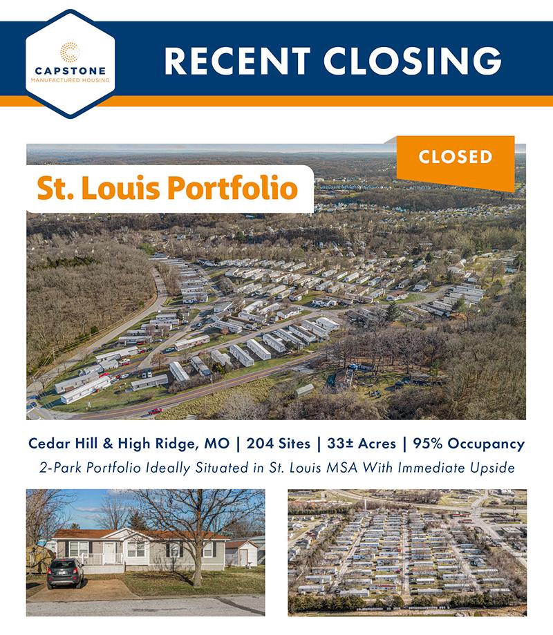 St Louis Portfolio Closing