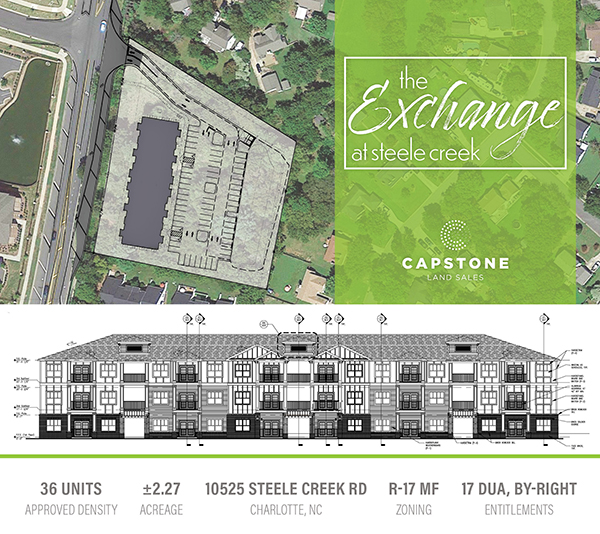 New Offering: ±2.27-Acre Shovel-Ready Boutique Garden Multi-Family Development Site