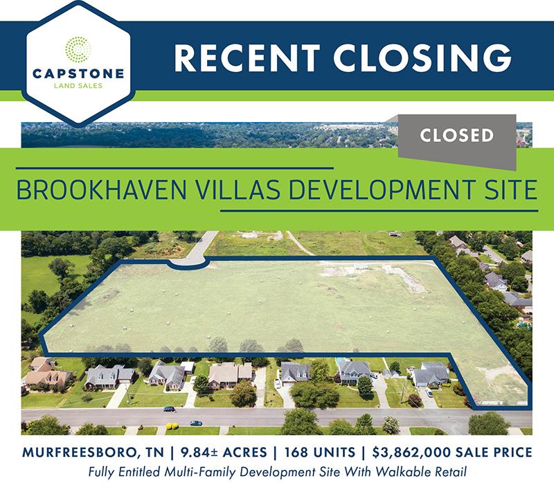 Brookhaven Villas closing