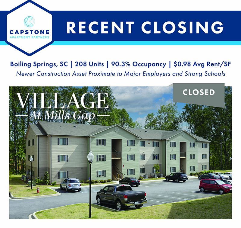 Village at Mills Gap closing