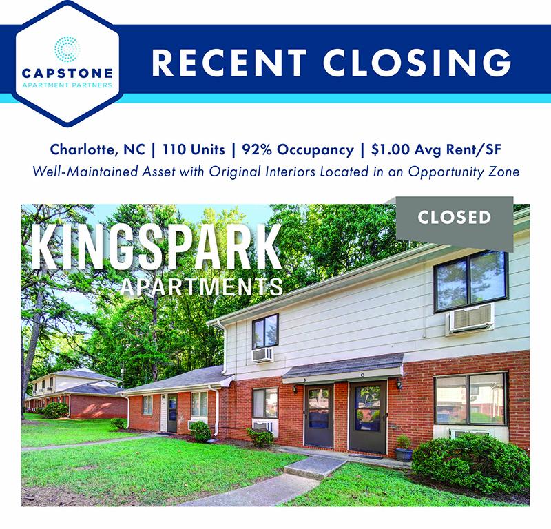 Kingspark Apartments closing image
