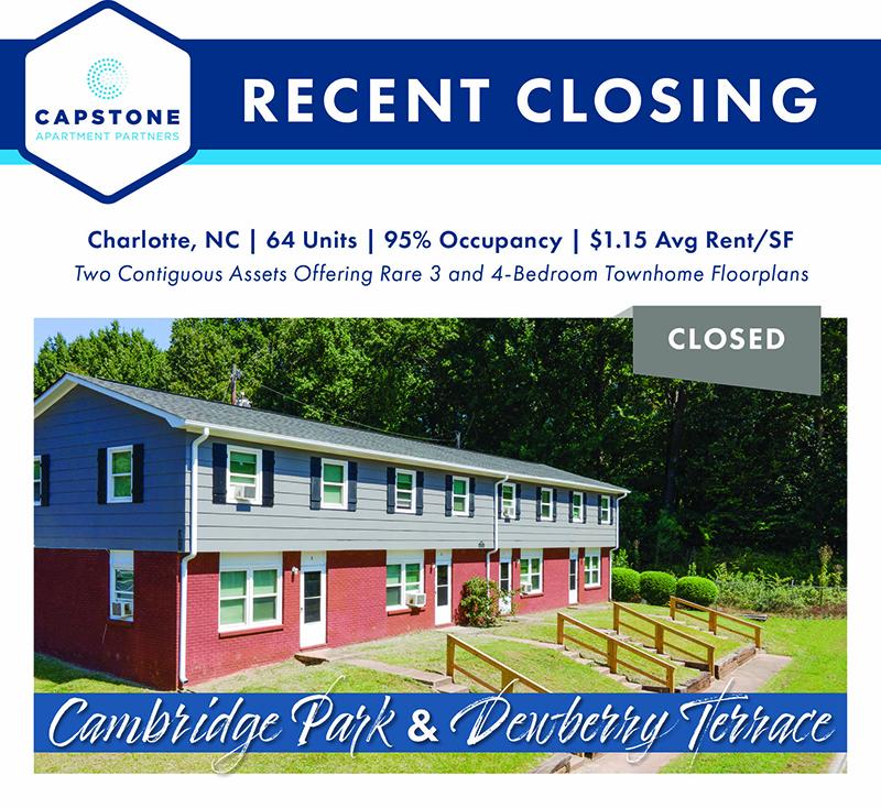 Cambridge & Dewberry closing image