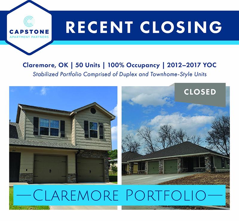 Claremore Portfolio closing image