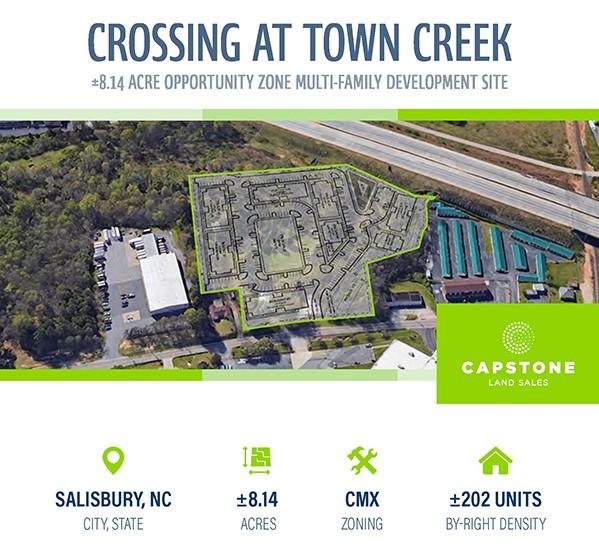 Crossing at Town Creek social