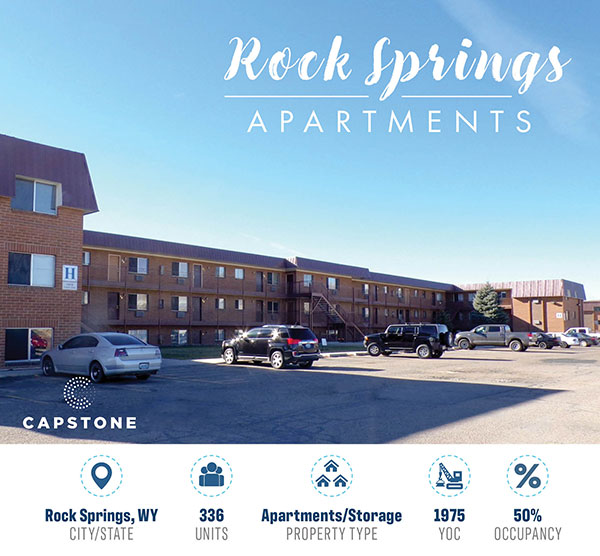 New Offering: 336-Unit, Value-Add Opportunity in Rock Springs, WY
