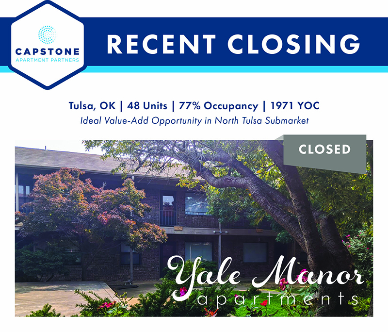 Yale Manor closing graphic