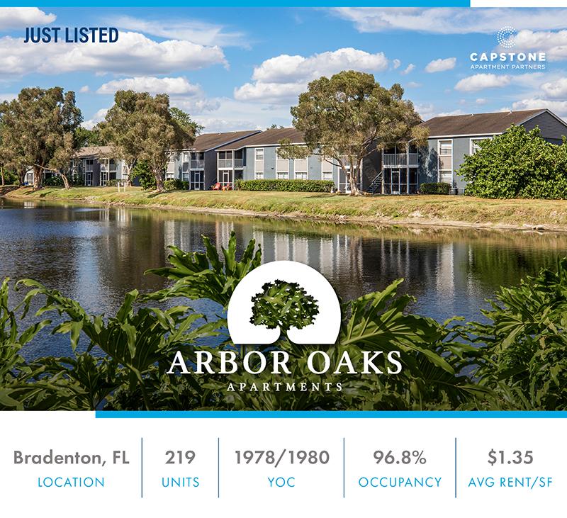 Arbor Oaks Apartments Launch