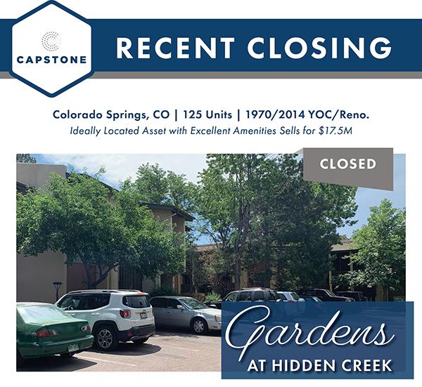 Gardens at Hidden Creek closing image