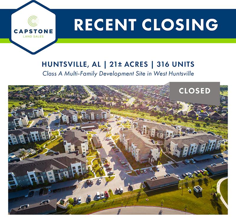 Huntsville AL Dev Site closing