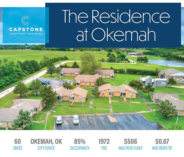New Offering: 60-Unit, Best-in-Class Asset in Okemah, Oklahoma