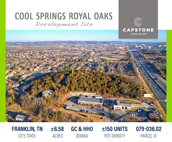 Royal Oaks Dev Site Launch Email 1