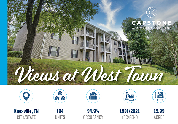 New Offering: 194-Unit Proven Value-Add Opportunity with Significant Upside Remaining | Located in West Knoxville, TN