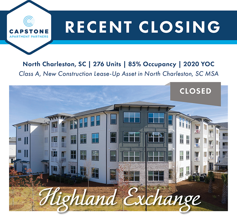 Highland Exchange closing graphic