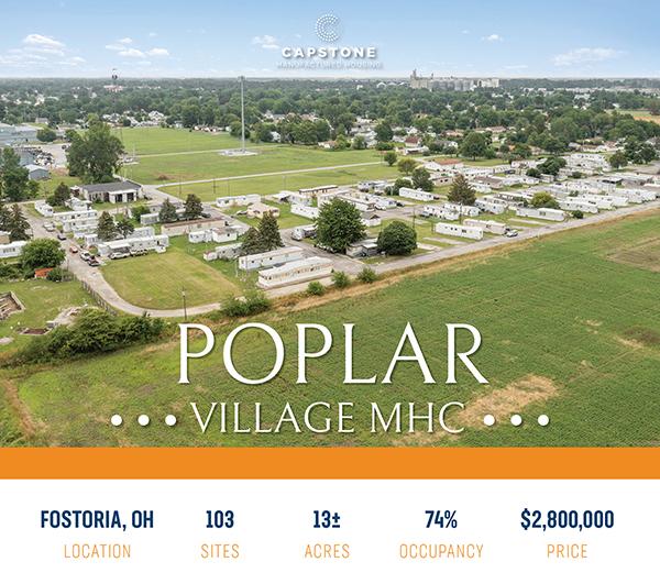 Poplar Village. social