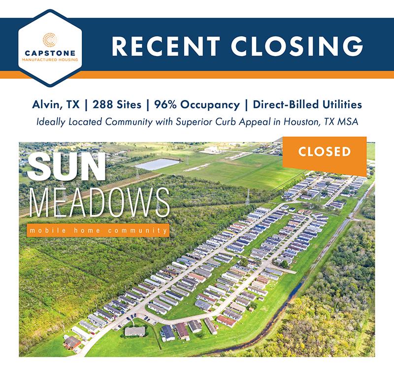 Sun Meadows closing graphic