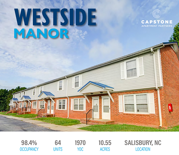 Westside Manor Launch Email 1