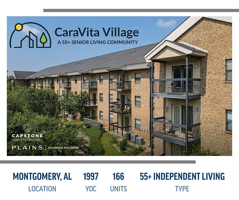 CaraVita Village launch graphic