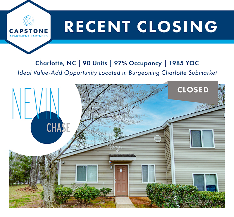 Nevin Chase closing graphic