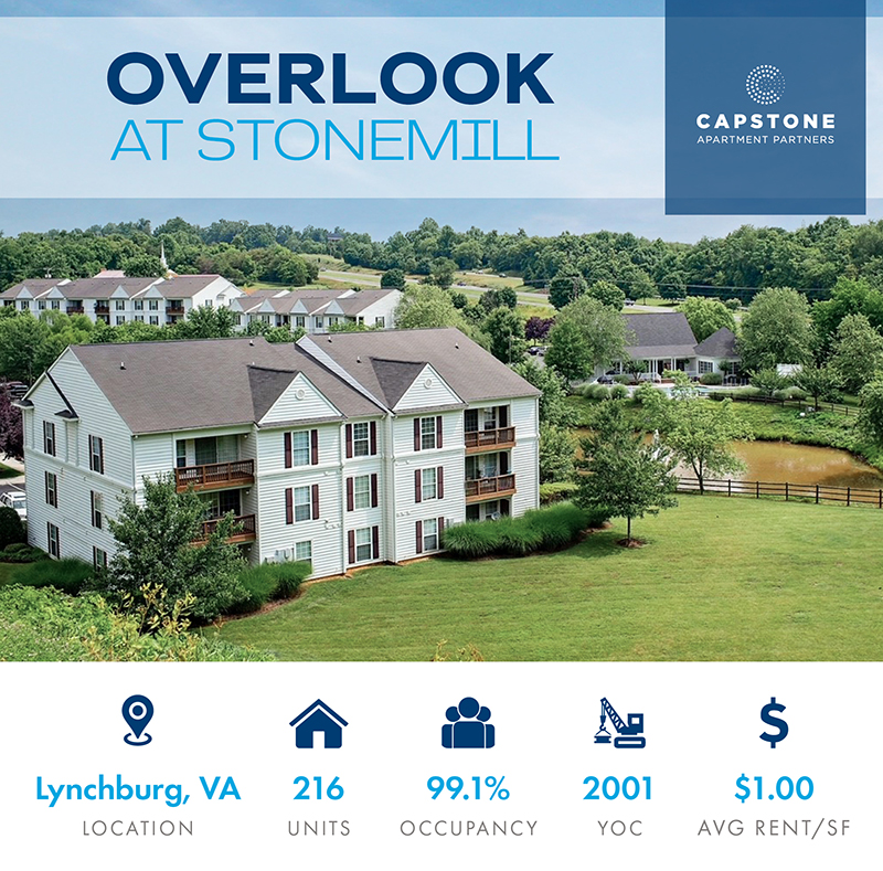 The Overlook at Stonemill Launch